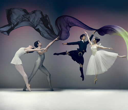 English National Ballet's Song of the Earth/La Sylphide