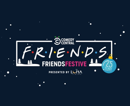 Comedy Central UK's FriendsFestive launch party